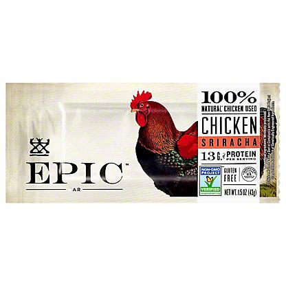 EPIC Chicken Sriracha Bar, 1.5 oz