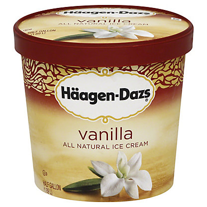 Haagen-Dazs Vanilla Ice Cream,64 oz