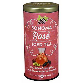 The Republic of Tea Sonoma Rose Iced Tea, 6CT