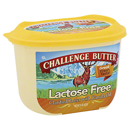 Challenge Butter Lactose Free With Canola Oil, 15 oz