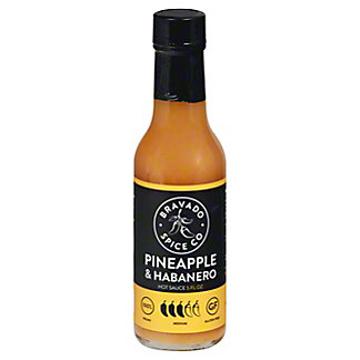 Bravado Spice Co. Pineapple & Habanero Hot Sauce, 5 OZ