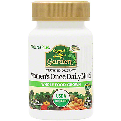 Nature's Plus Source of Life Garden Women's Daily Multivitamin Tablets, 30 ct