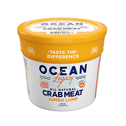 Ocean Tech Jumbo Lump Crab Meat, 8 oz