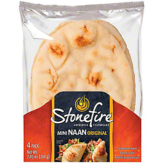 Stonefire Original Mini Naan,7.5 OZ
