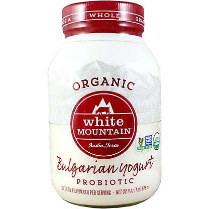 White Mountain Organic Organic Plain Premium Yogurt, 32OZ