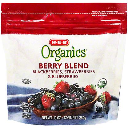 H-E-B Organics Frozen Berry Blend,10 oz