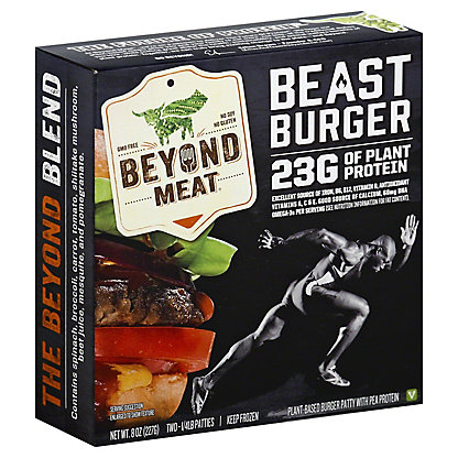 Beyond Meat Beyond Meat Beast Burger,8 oz