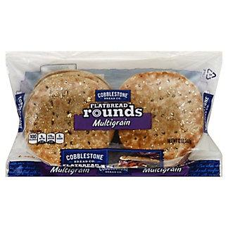 Cobblestone Bread Co. Flatbread Rounds Multigrain, 12 oz