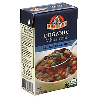 Dr McDougalls Organic Minestrone Soup, 17.6 oz