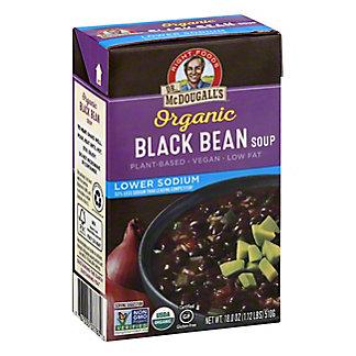 DR MCDOUGALLS Black Bean Low Sodium Soup, 18.00 oz