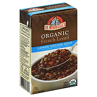 Dr McDougalls Soup French Lentil, 17.6 oz