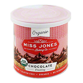 Miss Jone's Organic Chocolate Frosting,11.29 oz