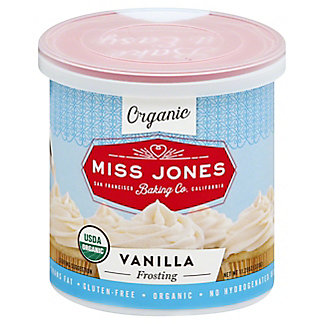 Miss Jones Organic Vanilla Frosting,320 GR