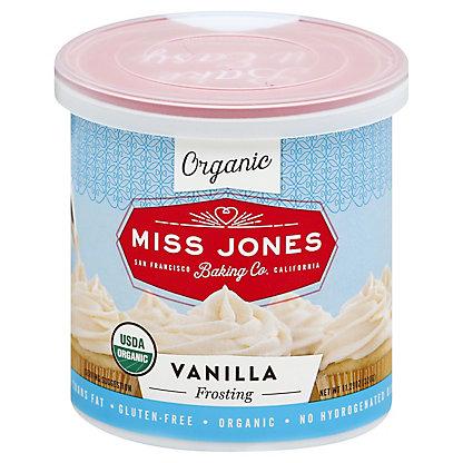 Miss Jones Organic Vanilla Frosting,320 GR