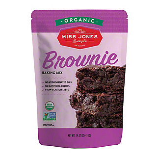 Miss Jones Organic Brownie Mix, 14.67 oz
