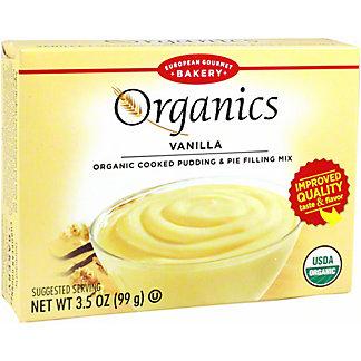 European Gourmet Bakery Organics Vanilla Pudding, 3.5 oz