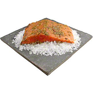 Central Market Hatch Chile Marinated Salmon, Lb