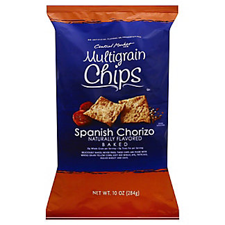 Central Market Spanish Chorizo Multigrain Chips, 10 oz
