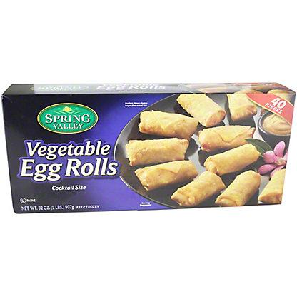 Spring Valley Vegetable Egg Rolls, 32 OZ