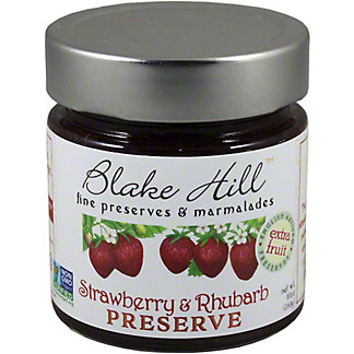 Blake Hill Strawberry & Rhubarb Preserve, 10OZ