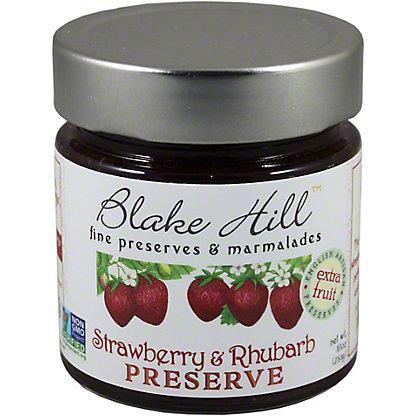 Blake Hill Strawberry & Rhubarb Preserve, 10OZ