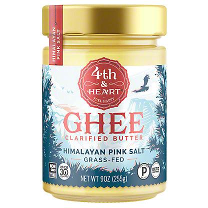 4th & Heart 4th & Heart Ghee Butter Himalayan Pink Salt,9 oz