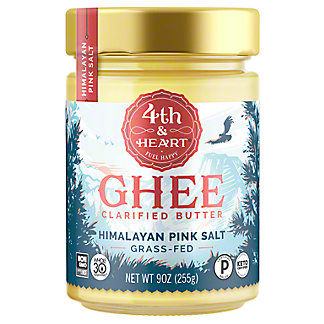 4th & Heart 4th & Heart Ghee Butter Himalayan Pink Salt,9 oz