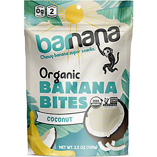 Barnana Barnana Banana Bites Organic Chewy Coconut, 3.5 oz