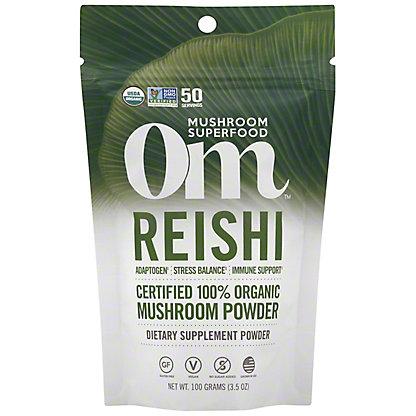 Om Mushroom Reishi Mushroom Superfood Powder, 100 G