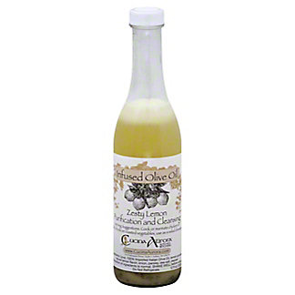 Cucina Aurora Olive Oil Infused With Lemon, 12 oz