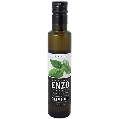 ENZO Organic Olive Oil With Basil,250 ML