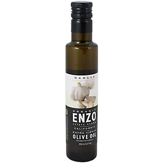 ENZO Extra Virgin Olive Oil Organic Garlic,250 ML