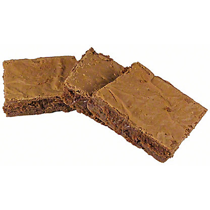 Central Market Chewy Chocolate Brownie, 3 ct