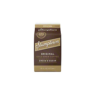 Stumptown Cold Brew Coffee With Milk,16 oz