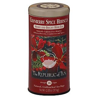 Republic of Tea Cranberry Spice Hibiscus, 36 ct