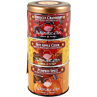 The Republic of Tea The Republic of Tea Holiday Harvet Stackable, 36 CT