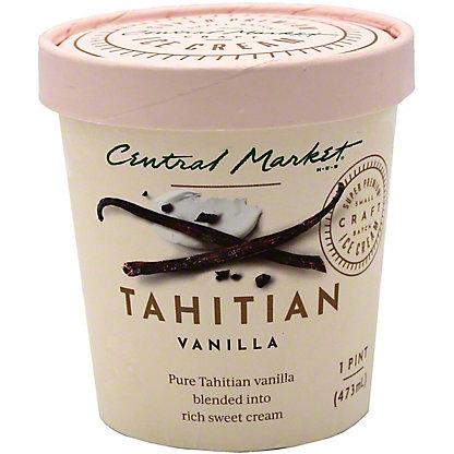 Central Market Tahitian Vanilla Ice Cream, 1 pt