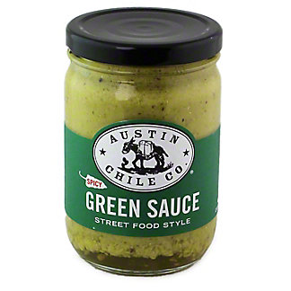 AUSTIN CHILE CO Austin Chile Co Green Sauce Spicy,12 OZ