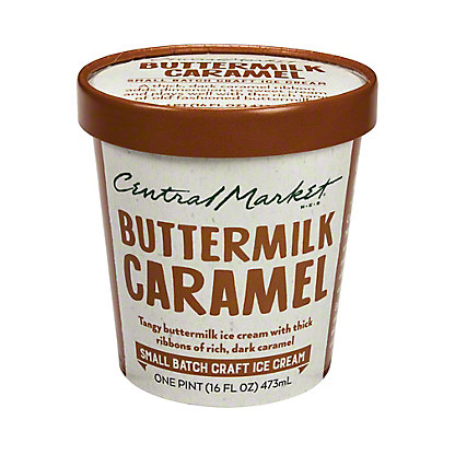 Central Market Buttermilk Caramel Ice Cream,1 pt