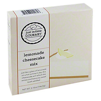Just in Time Gourmet Lemonade Cheesecake Mix, 5.15 oz