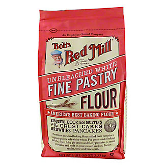 Bobs Red Mill White Fine Pastry Flour,5.00 lb