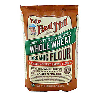 Bobs Red Mill Organic Whole Wheat Flour,3.00 lb
