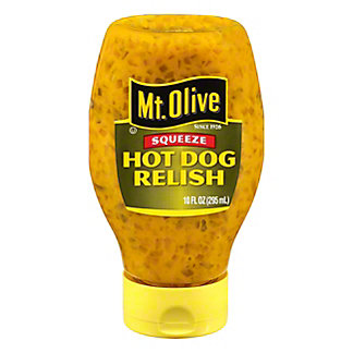Mt. Olive Squeezable Hot Dog Relish, 10 oz