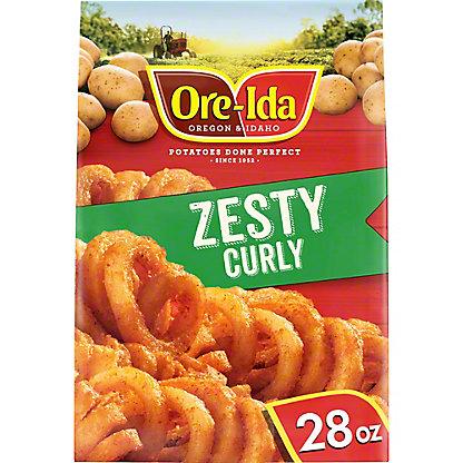 Ore Ida Bold & Crispy Zesty Twirls,28 oz