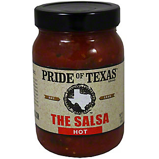 PRIDE OF TEXAS Salsa Hot,16 OZ