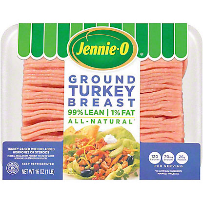 Jennie-O Extra Lean Ground Turkey Breast, 16 oz