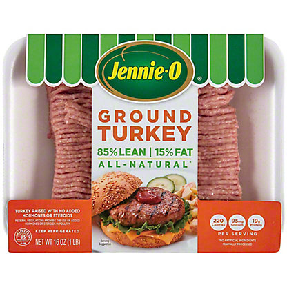 Jennie-O Ground Turkey - 85% Lean,16 oz