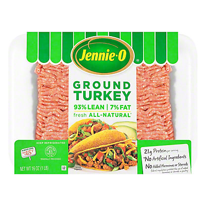 Jennie-O 93% Lean All Natural Ground Turkey, 16 oz