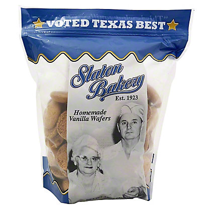 Slaton Bakery Homemade Vanilla Wafers,16 OZ