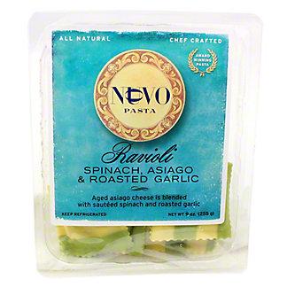Nuovo Pasta Spinach, Asiago & Roasted Garlic Ravioli,9 OZ